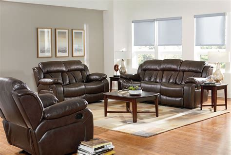 chocolate brown living room furniture shore chocolate brown reclining living room set