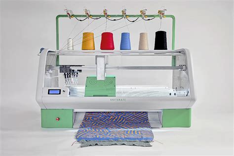 knitting machines kniterate a new digital knitting machine lets you print