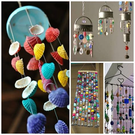 wind crafts for wind chime crafts for growing a jeweled