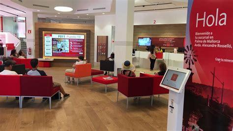 oficinas de banco santander banco santander presenta su oficina smart red en palma de