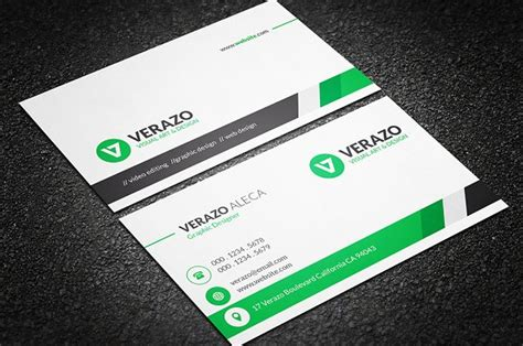 professional card clean professional business card business card templates