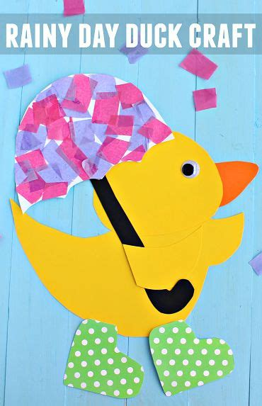 rainy day crafts for 1000 ideas about duck crafts on paper plates