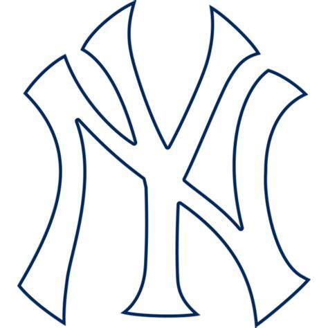 new york yankees stencil ny yankees logo clip cliparts co