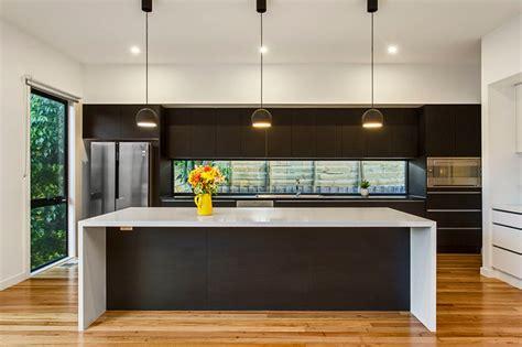kitchen bench lighting modern kitchen with island bench feature lighting