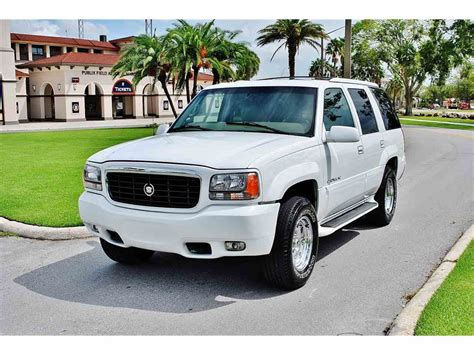 2000 Cadillac For Sale by 2000 Cadillac Escalade For Sale Classiccars Cc 1030719