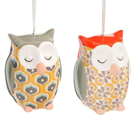 owl home decorations vintage ceramic owl decorations