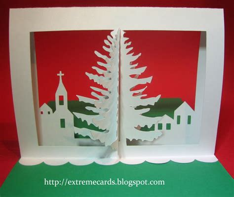 pop up card tutorial cards and papercrafting 3d tree pop up