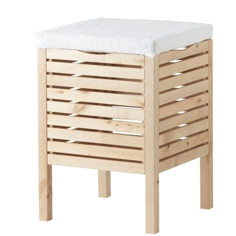 storage stool bathroom molger storage stool from ikea bathroom storage
