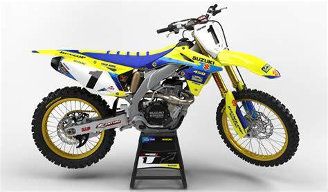 Suzuki Mx by Suzuki Rm Mx Graphics Motocross Graphics Rm 125 03 08