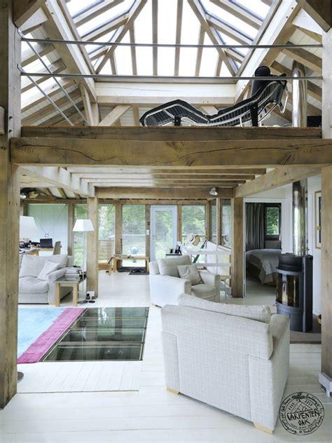 Split Level Houses timber frame materials light and space carpenter oak ltd