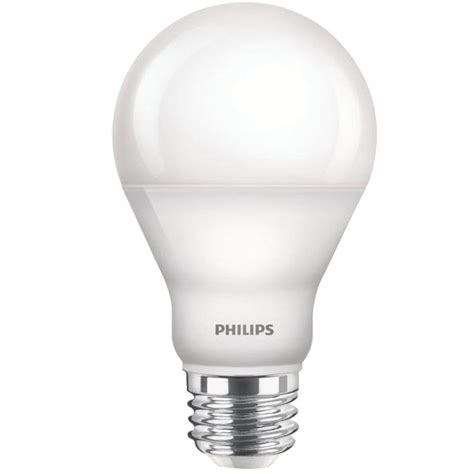 warm glow led lights philips 60w equivalent soft white a19 dimmable led with