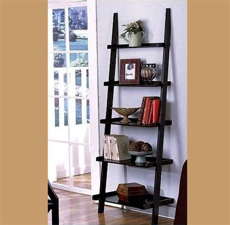 black ladder bookshelves black ladder bookshelf home decorating