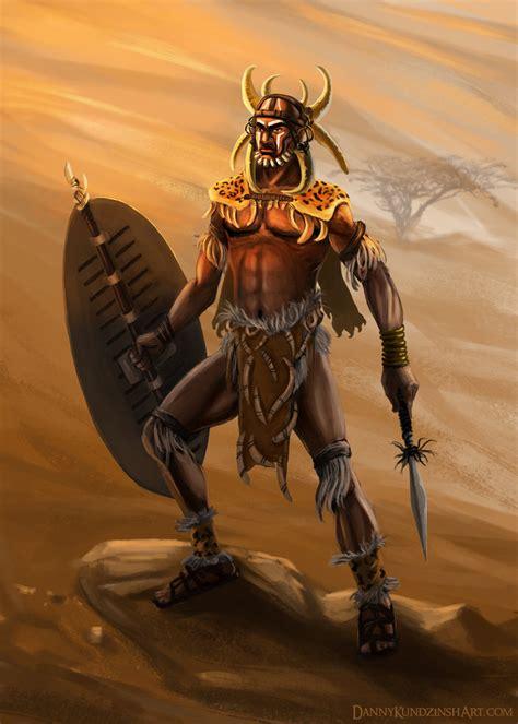 zulu painting king shaka zulu by dkundzinsh on deviantart