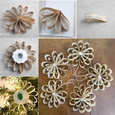 book tree craft wonderful diy 30 ornaments