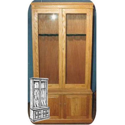 woodworking plans gun cabinet woodworking project paper plan to build large 8 gun cabinet