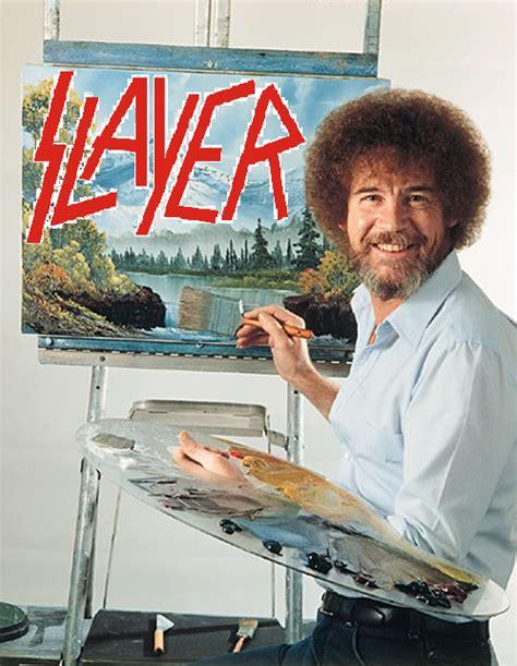 bob ross painting bio slayer bob biography