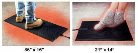 heated floor mat desk take care of your winter is coming more than mats
