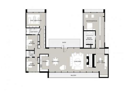 garden home house plans u shaped one story house u shaped house plans garden home