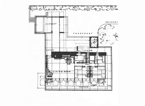 prairie style floor plans prairie home plans frank lloyd wright