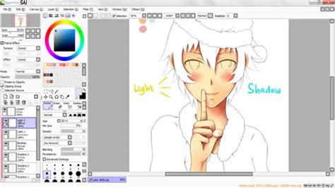 paint tool sai skin tutorial tutorial how to color skin paint tool sai hd
