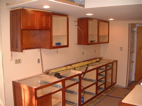 how to install kitchen wall cabinets springfield kitchen cabinet install remodeling designs
