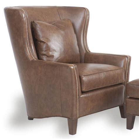 Wingback Chair by Wingback Chair And Ottoman By Smith Brothers Wolf And