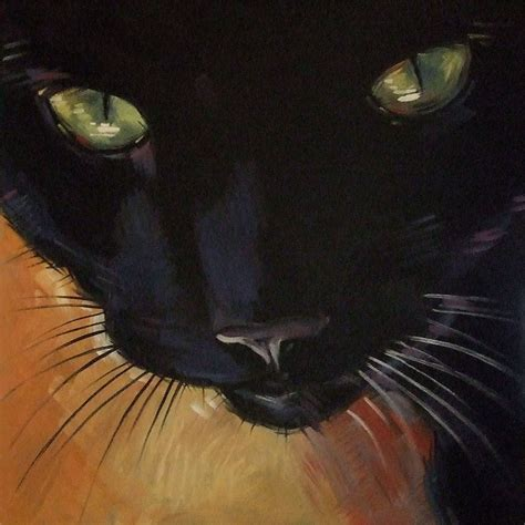 painting cat whiskers your paintings from the large black cat painting
