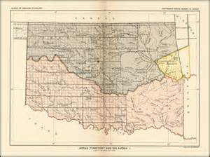 indian territory and oklahoma barry ruderman antique maps inc