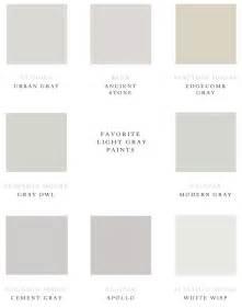 paint colors light favorite light gray paints color inspiration