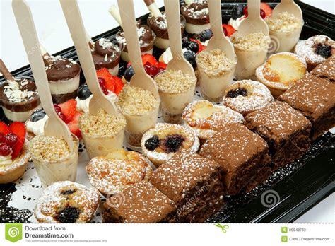 Dessert Canapes Stock Photos   Image: 35048783