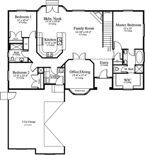 single story house plans 2500 sq ft house plans 2000 to 2500 square numberedtype