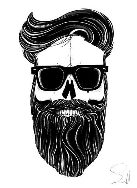 skull beard skull customer images style