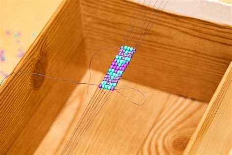 using a beading loom hipoh potamus day 3 loom make your own