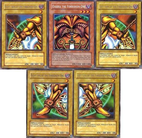 who makes yugioh cards 4 answers who is exodia the forbidden one in yu gi oh