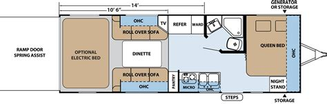 prowler cer floor plans rockwood trailer floor plans images 28 travel trailer
