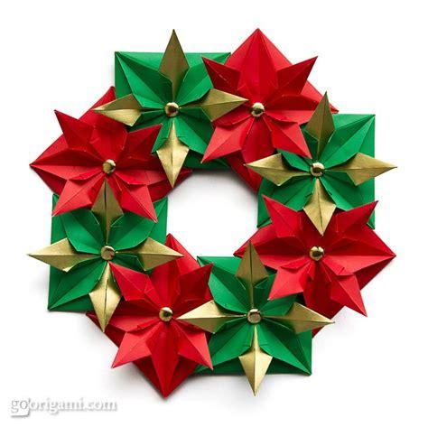 origami wreath origami wreath origami go origami