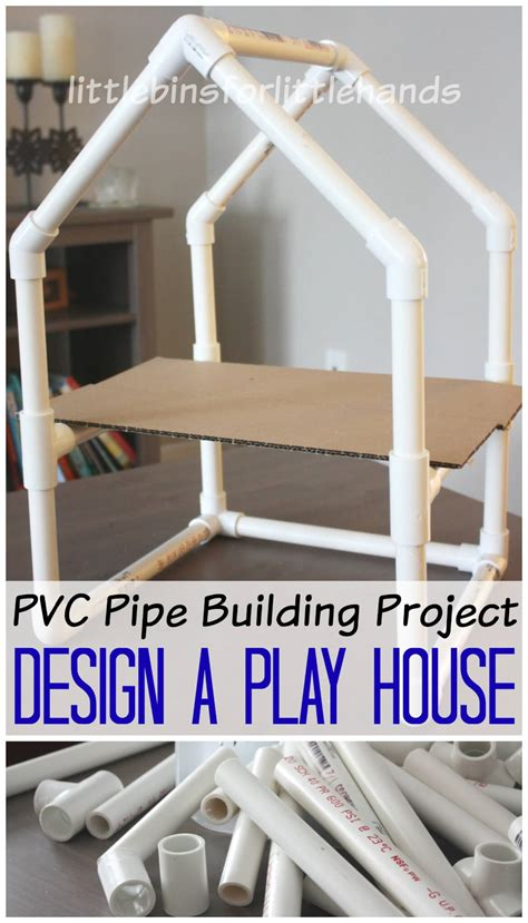 building crafts for pvc pipe house building project stem engineering activity