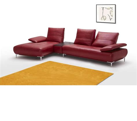 italian leather sectional sofa dreamfurniture 941 contemporary italian leather