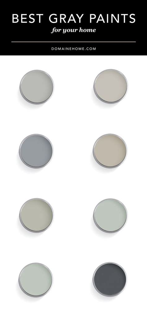paint colors grey top designers their favorite gray paint colors