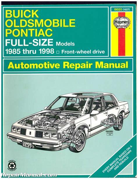 car repair manual download 1998 buick century electronic throttle control service manual repair manual 1991 buick century wheel drive the general motors v6 engines of