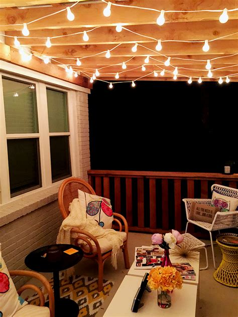 cheap patio string lights the best outdoor patio string lights patio reveal
