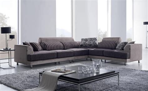 modern sofa ideas modern l shaped sofa designs for awesome living room