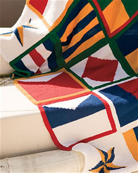 nautical blanket knitting pattern ravelry nautical blanket pattern by isaacson