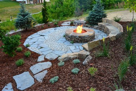 landscape pits rustic landscaping ideas landscape rustic with