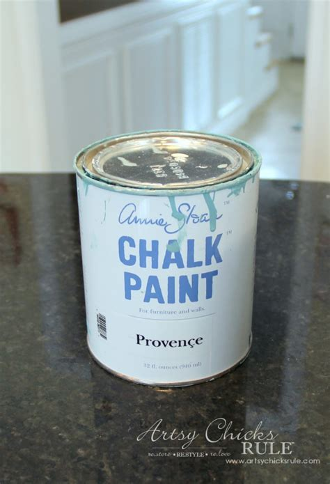 chalk paint sealer thrifty makeovers repurposed it like it s