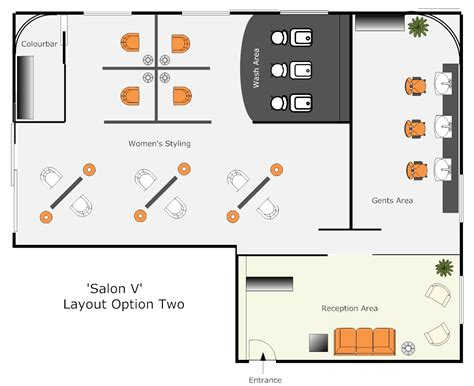 floor plan for hair salon 301 moved permanently