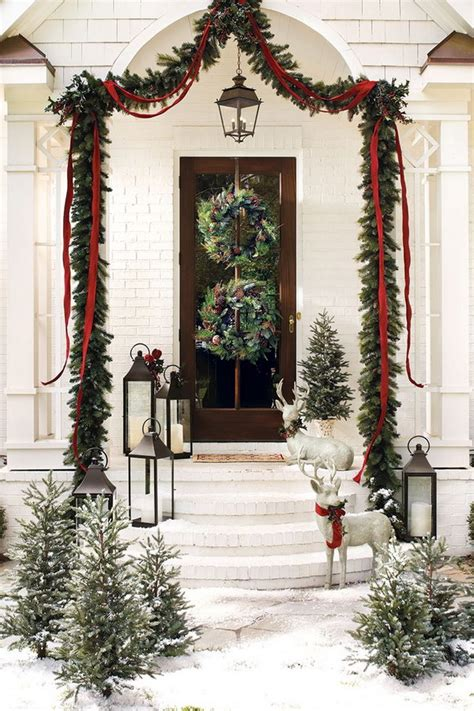 Ballard Design Mirror 20 most beautiful outdoor decoration ideas for christmas