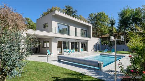 maison moderne et contemporaine avec piscine 224 l ouest de lyon maisons elytis lyon ouest