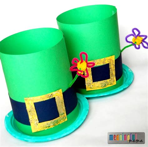 hat crafts for 35 st s day crafts to make you feel