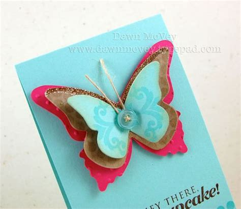 butterfly cards to make my favorite things butterfly embellies